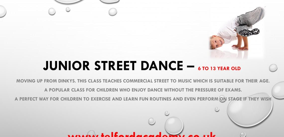 Junior Street Dance