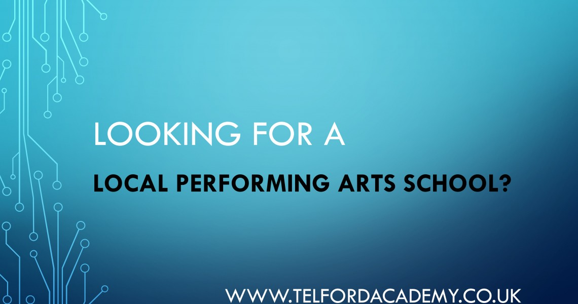 Are You Looking For A local Performing Arts School?