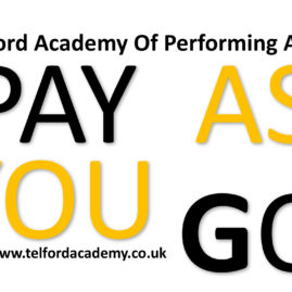 Affordable Performing Arts Classes (Pay As You Go)