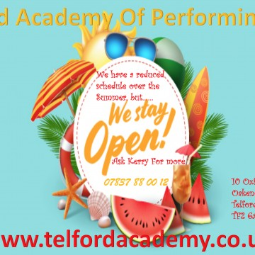 Holiday Clubs @ Telford Academy Of Performing Arts